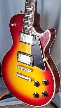 Sunburst Garnet LP Body