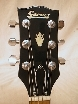 Blonde Garnet LP Headstock